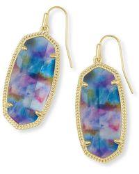 Kendra Scott Elle Earrings - Blue