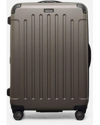 "Kenneth Cole Renegade 28"" Lightweight Hardside Expandable 8-wheel Spinner Checked Luggage, Silver - Gray"