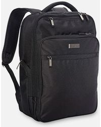 Kenneth Cole Brooklyn Commuter Double Compartment Backpack - Black