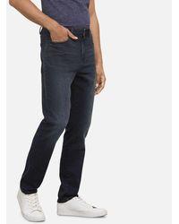 Kenneth Cole Slim Fit Stretch Jean In Dark Indigo - Blue