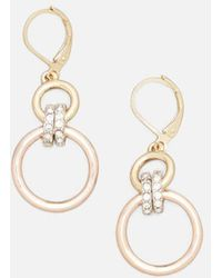 Kenneth Cole - Multi-tone Jeweled Earring - Lyst