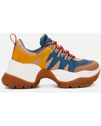 Kenneth Cole Women's Maddox 2.0 Mixed Media Sneakers - Multicolor