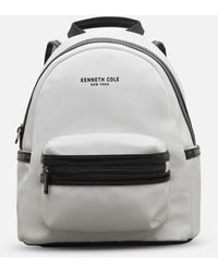 Kenneth Cole Kam Mini Backpack With Tech Pocket - White