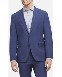 Kenneth Cole Travel Ready Modern Fit Stretch Suit Jacket - Blue