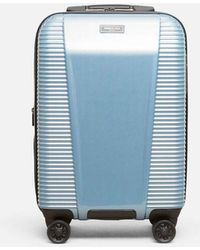 Kenneth Cole 20 Inch Sudden Impact 2.0 Carry-on Suitcase - Blue