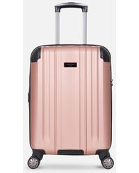 Kenneth Cole Saddle Rock Rose Gold Carry-on Upright Suitcase - Pink