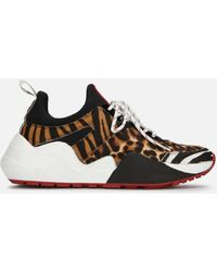 Kenneth Cole Maddox Animal Print Jogger Sneaker - Multicolor