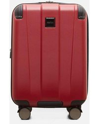 Kenneth Cole Continuum Red Carry On Spinner Suitcase - 20 Inch