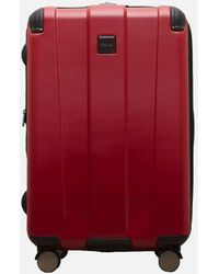 Kenneth Cole Continuum Red Spinner Suitcase - 24 Inch