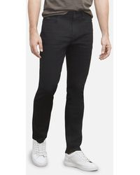 Kenneth Cole Slim Fit Stretch Jean In Black