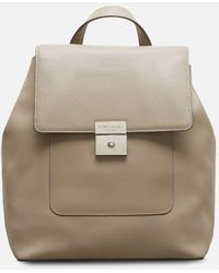 Kenneth Cole Perry Luxe Leather Rucksack - Multicolor