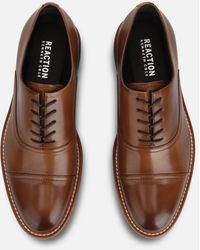 Kenneth Cole Klay Cap Toe Shoe With Flex - Brown