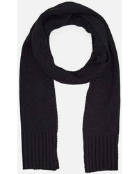 Kenneth Cole - Solid Knit Scarf - Lyst