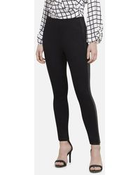 Kenneth Cole 28 Inch The Side Stripe LEGGING - Black