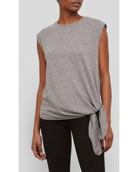 Kenneth Cole - Side Knot Top - Lyst