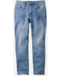 Kenneth Cole Classic Stretch Jean In Pacific Wash - Blue