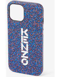 KENZO Coque iPhone 12 Pro Max - Bleu