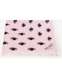 KENZO - Large Multi Eye Scarf - Lyst
