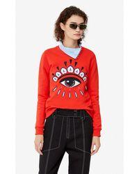 KENZO Eye Sweatshirt - Red