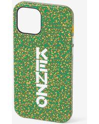 KENZO Coque iPhone 12 Pro Max - Vert