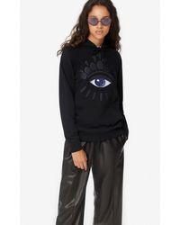 KENZO Eye Hooded Sweatshirt - Black