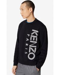 KENZO Sweatshirt Logo - Noir