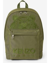 KENZO - Canvas Kampus Tiger Backpack - Lyst