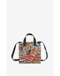 KENZO Jungle 'flying Tiger' Small Tote Bag - Multicolour