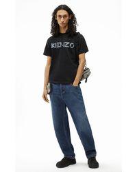 KENZO T-Shirt mit Logo - Schwarz