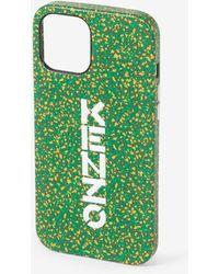 KENZO Hülle iPhone 12/12 Pro - Grün