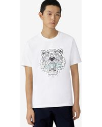 KENZO T-shirt Tigre - Blanc