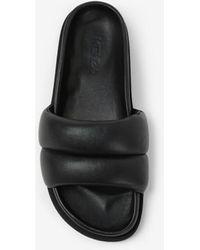 KENZO Leather Komfy Mules - Black
