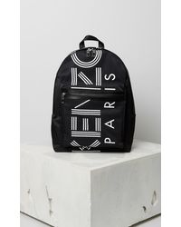 KENZO Mini Logo Backpack - Black