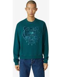 KENZO Sweatshirt Tiger - Blau