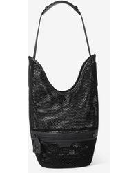 KENZO Onda Mesh Bucket Bag - Black