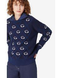 KENZO Pullover Eye - Blau