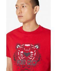 KENZO T-shirt Tigre - Rouge