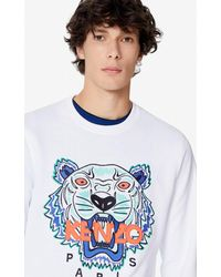 KENZO - Tiger-Sweatshirt - Lyst