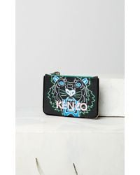 0ee86ed5 Kenzo Tiger Patch Purse in Black - Save 35.71428571428571% - Lyst