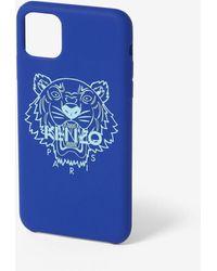 KENZO Coque iPhone XI Pro Max - Bleu