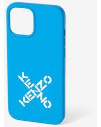 KENZO Hülle iPhone 12 Pro Max - Blau