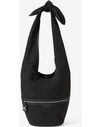KENZO Onda Large Bucket Bag - Black