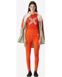 KENZO Sport 'Little X'-Leggings - Orange