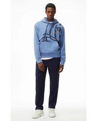 KENZO Kapuzensweatshirt K-Tiger - Blau