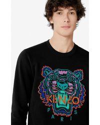 KENZO Sweatshirt Tigre - Noir