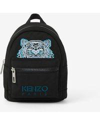 KENZO Mini Canvas Kampus Tiger Backpack - Black