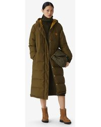 KENZO Reversible Long Quilted Coat - Multicolor
