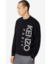 KENZO Sweatshirt -Logo - Schwarz