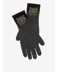 KENZO 'holiday Capsule' Tiger Gloves - Multicolor
