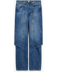 KENZO Jean tablier - Bleu